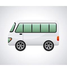 bus design vector image vector image