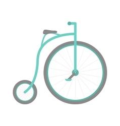 Circus bike vector image vector image