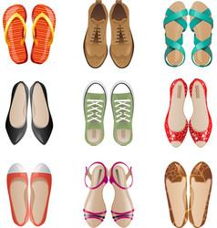 Women shoes vector image