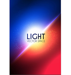 Abstract blur background contrast color light vector