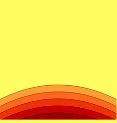 Background template from curves - design vector