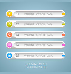 List of options art info vector