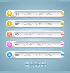 List options art info vector