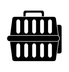 Pet transporter icon imag vector