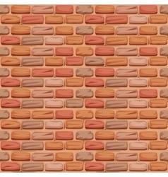 Seamless pattern stone brick vector