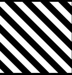 Tile black and white stripes pattern vector