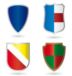 Set of Heraldry vector image vector image