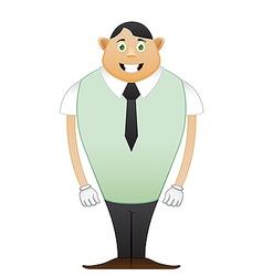 modest Beginner office man vector image vector image