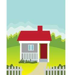 House background vector image