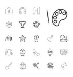 22 design icons vector