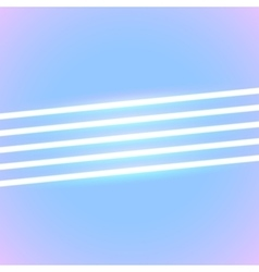 Bright neon lines background vector image