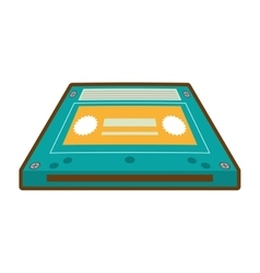 Cartoon cassette tape music audio music vector
