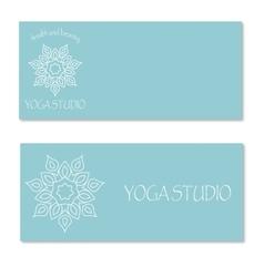 Design for yoga studio vector image