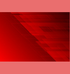 geometric dark red color abstract background vector image