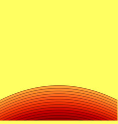 Hot background from layer stripes vector