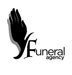 Interment or burial funeral agency isolated icon vector