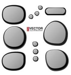 Collections of Spa Stones vector image
