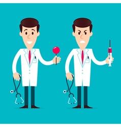 Doctors Characters vector image vector image