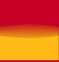 Abstract background from curved stripes - vector
