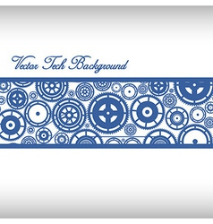 Cogwheels Ornaments vector image
