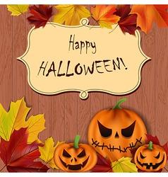 halloween background1 vector image