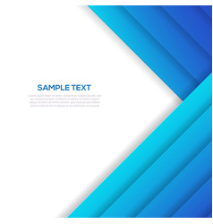 abstract blue business background template vector image