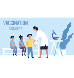 Family vaccination against infectious diseases vector