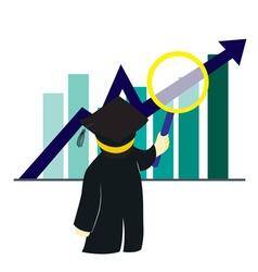 Graduate Examine Chart vector