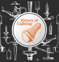 History lighting vector