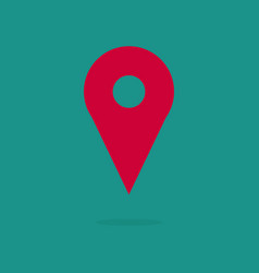 map pin location pin pin icon location map vector image