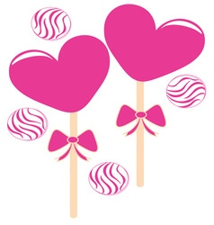 Valentine Candy vector image vector image