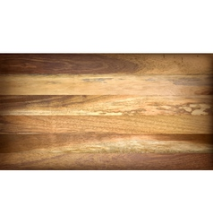 Wooden boards vector image vector image
