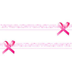 ribbon background wallpaper pink banner vector image