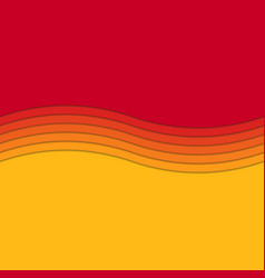 Abstract wave background from curved stripe vector