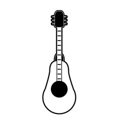acoustic guitar instrument vector image