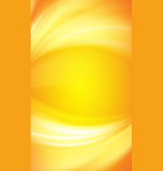 colorful smooth light lines vector image