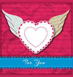 for you card or composition vector image