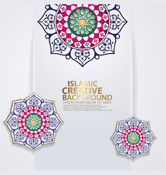 Islamic traditional wedding events and other vector