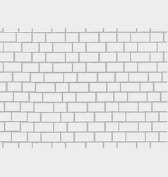 realistic brick wall 3d seamless background vector image