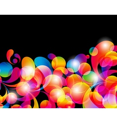 Card background vector image