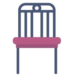 Modern purple chair vector image vector image