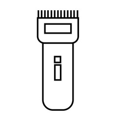 Electric razor icon vector