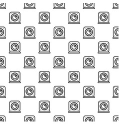 kitchen timer start pattern seamless vector image