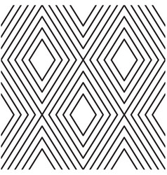 abstract diamond pattern background image vector image