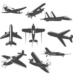 planes vector image