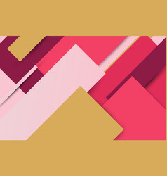 abstract colorful geometric minimal style vector image