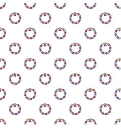 Bead pattern seamless vector