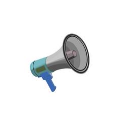 color image shout speaker loudspeaker vector image