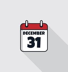 date calendar icon theme vector image