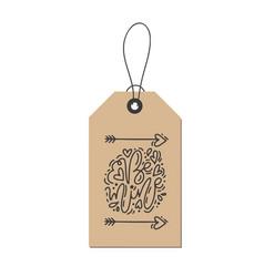 Monoline calligraphy phrase be mine on vector